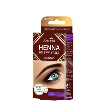 HENNA do rzęs brązowa 15ml