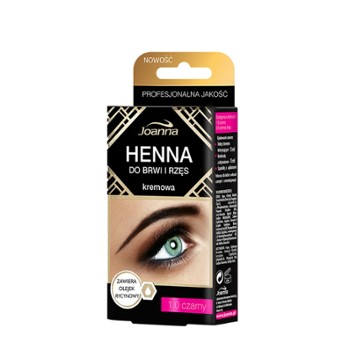HENNA do rzęs czarna 15ml