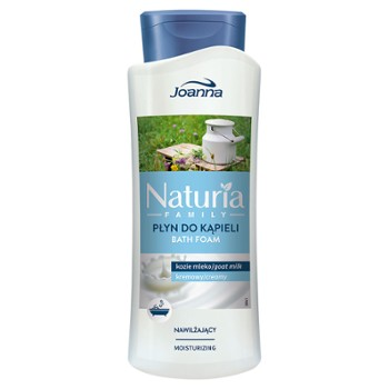 NATURIA FAMILY Płyn do kąpieli kozie mleko 750ml