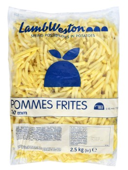 Frytki Regular Fries 7x7, 2,5kg/5 LW F76