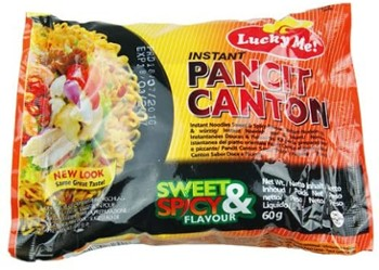 Makar.inst.Pancit Canton Sweet&Spicy 60g/24 Lucky Me