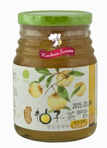 Konfitura Honey Citron (Yuzu) Tea 580g/15 Hosan