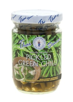 Chili Green Pickled 200g/12 Thai Dancer *e