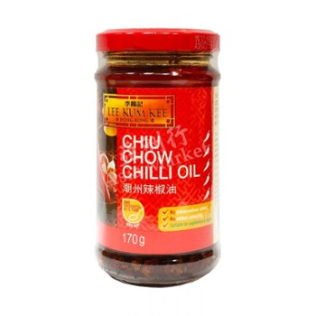 Sos Chiu Chow Chilli Oil 335ml/12 LKK e*
