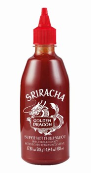 Sos Sriracha Extra Hot 490g/12 Golden Dragon