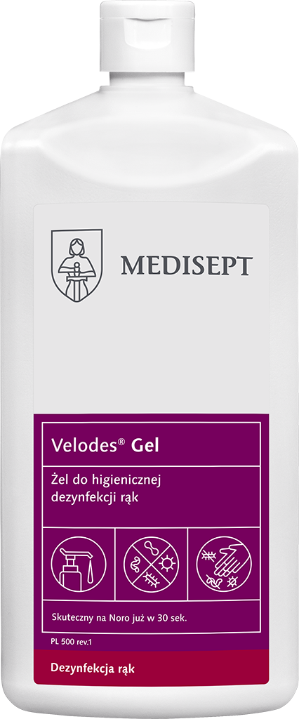 VELODES GEL 500 ML - ŻEL