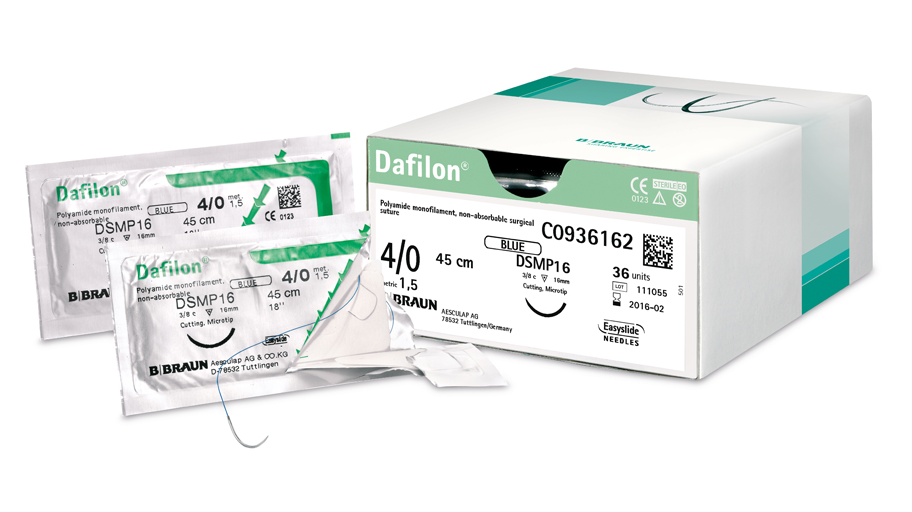 DAFILON 4/0 75CM DS24 CO935344 A'36 SASZ BRAUN